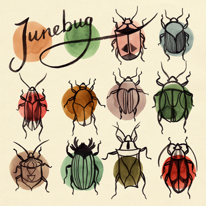 Album cover design for Junebug